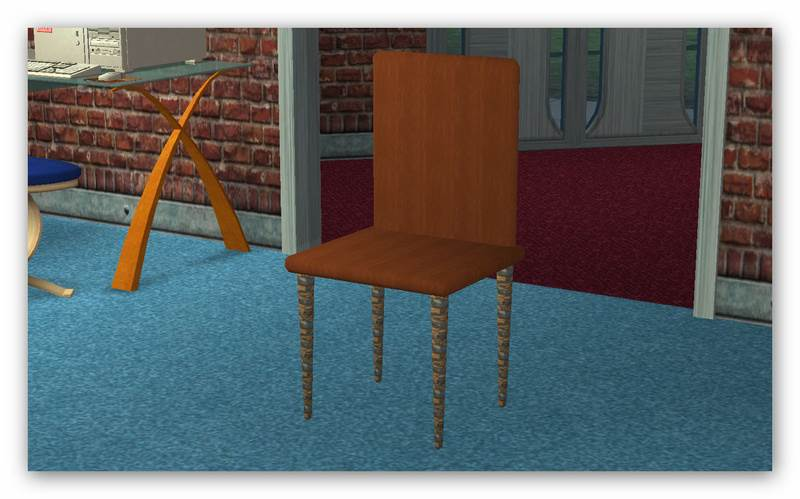 Sims 2 Meshing Tutorial – Simple Dining Chair