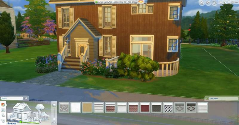 Sims 4 – Adding a foundation