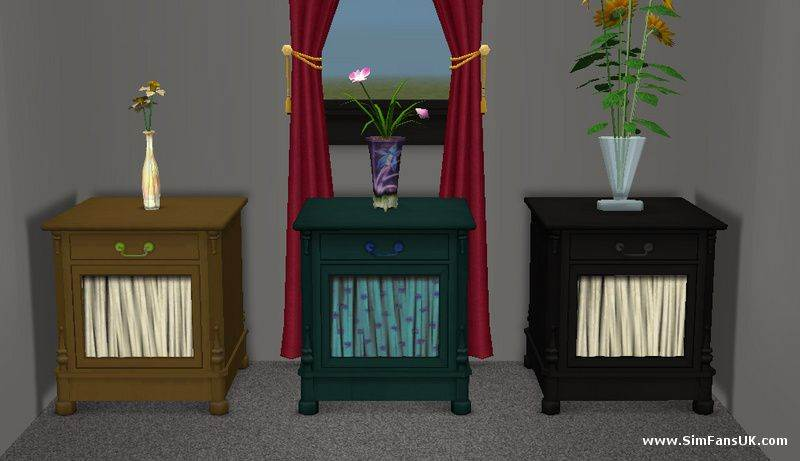 Bedside Cabinet Recolours