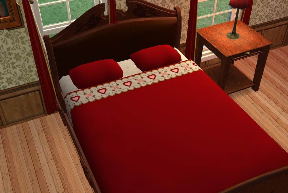 The Red Bed – Maxis Re-Colours