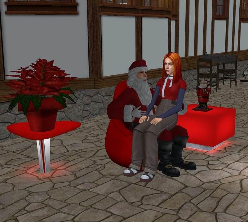 Merry Christmas – Santa Claus Living Chair