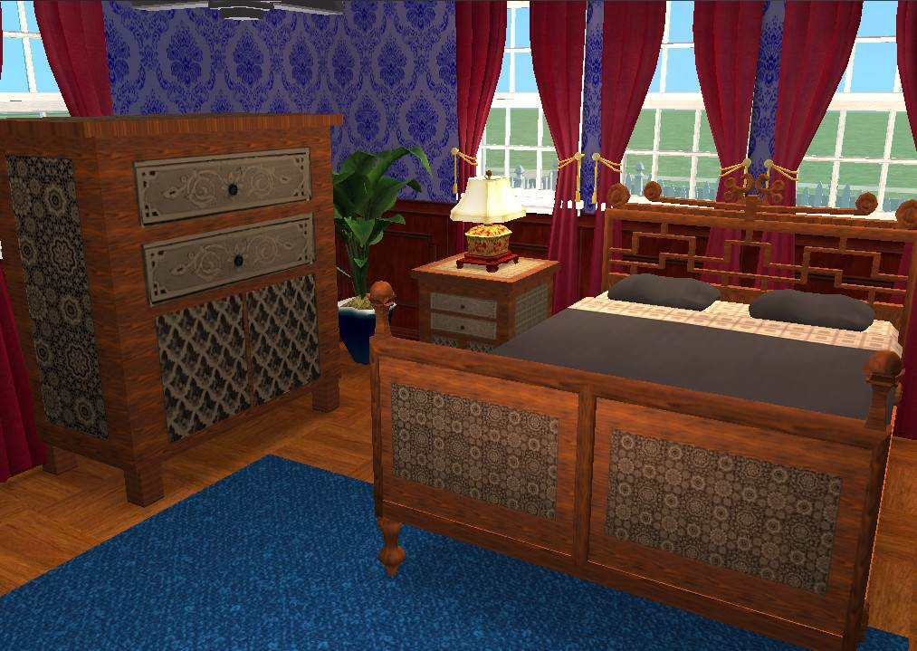 Moroccan-Style Bedroom Furniture