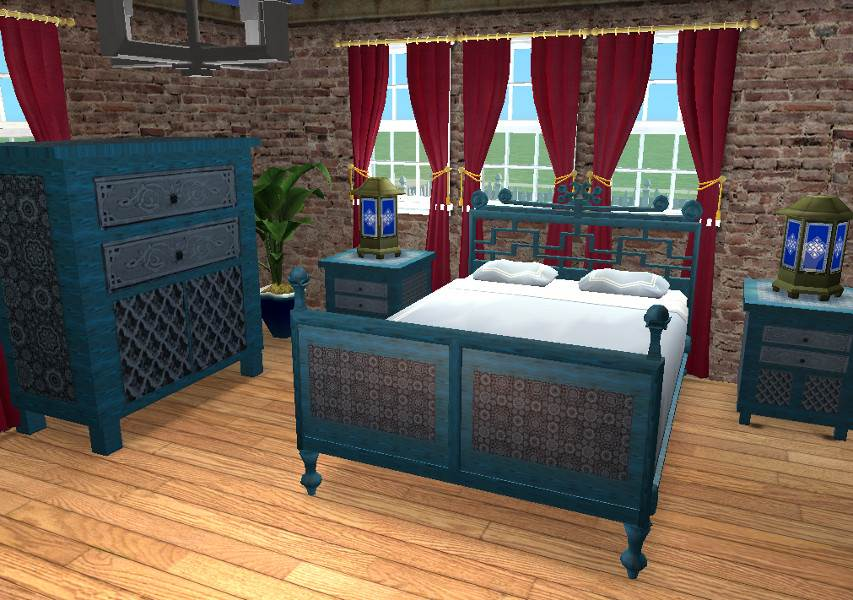 Moroccan Bedroom Set – Requested Recolours