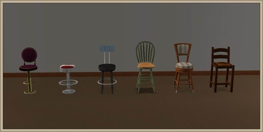 Bar Stool – Conversion to LS