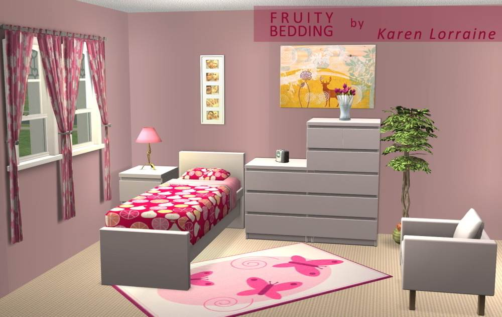 Fruity Bedding