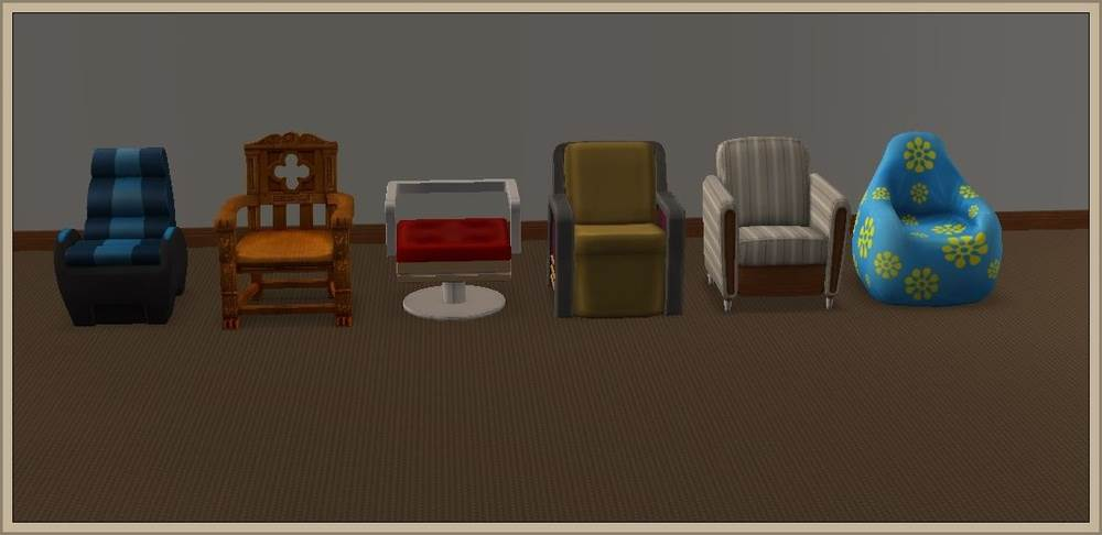 Chairs Living – Conversion to LS