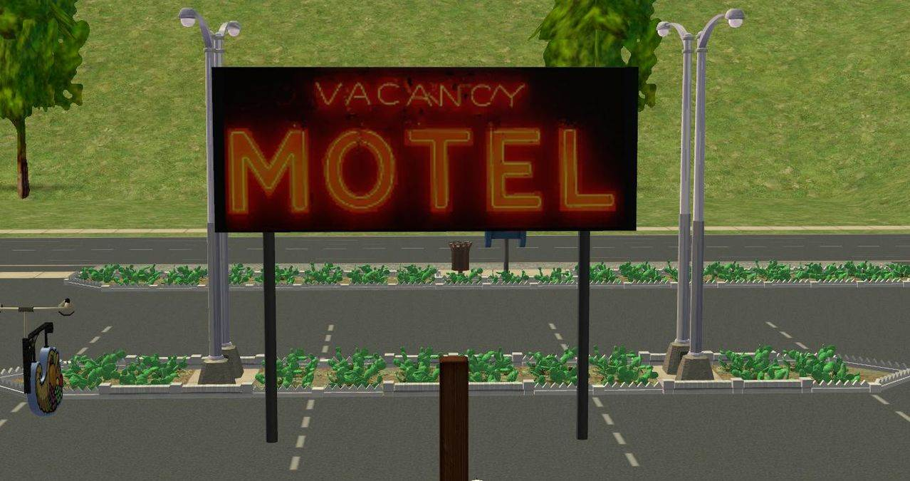 Motel & Drive-In Signs