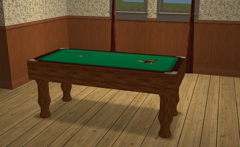 'Pool' Table Diner