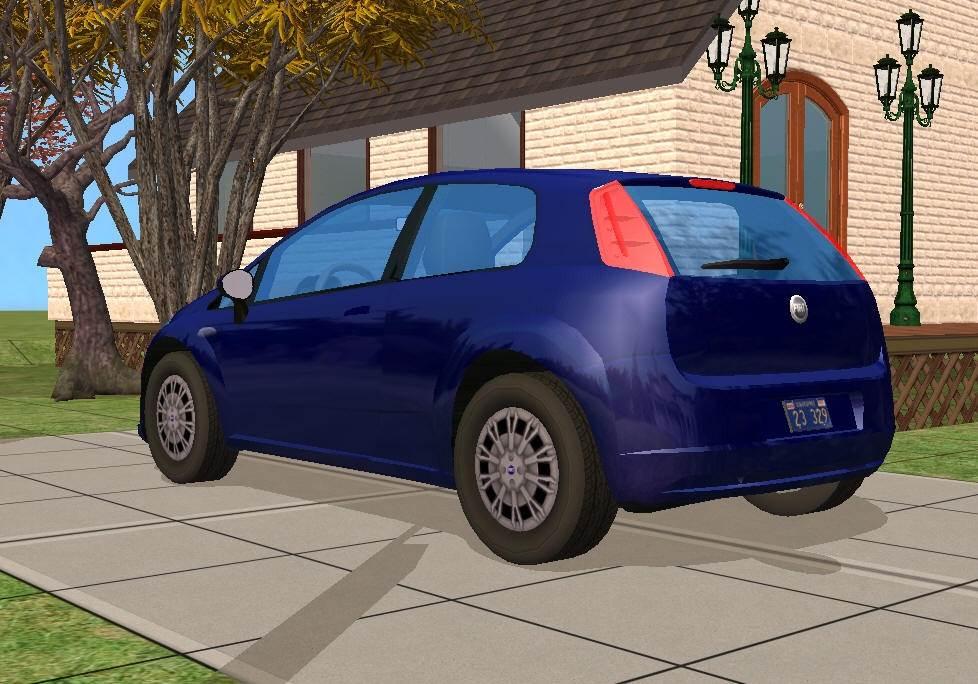 EA Fiat Punto Car