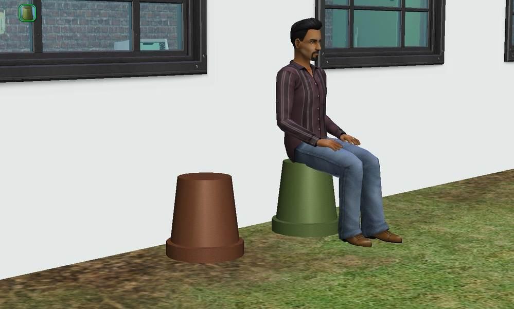 Flower Pot Seats