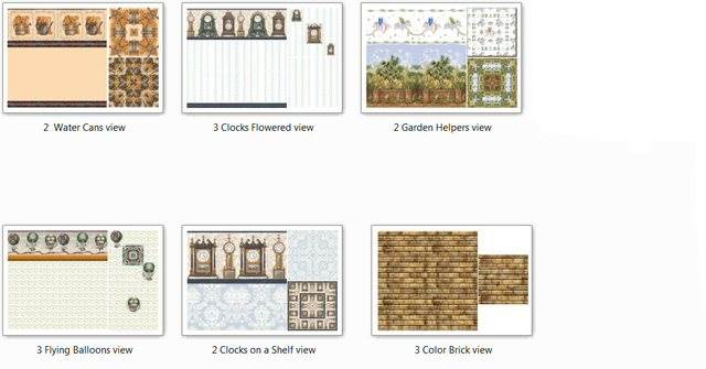 Chilili's Wall & Floor Sets