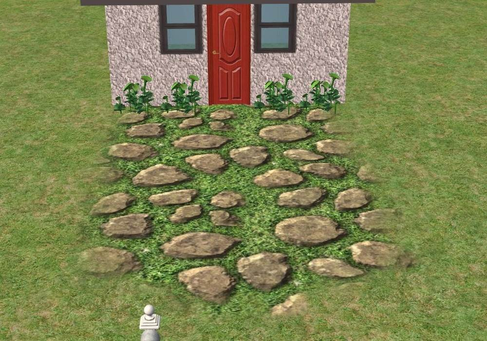 Grassy Cobbles in 3 Sizes