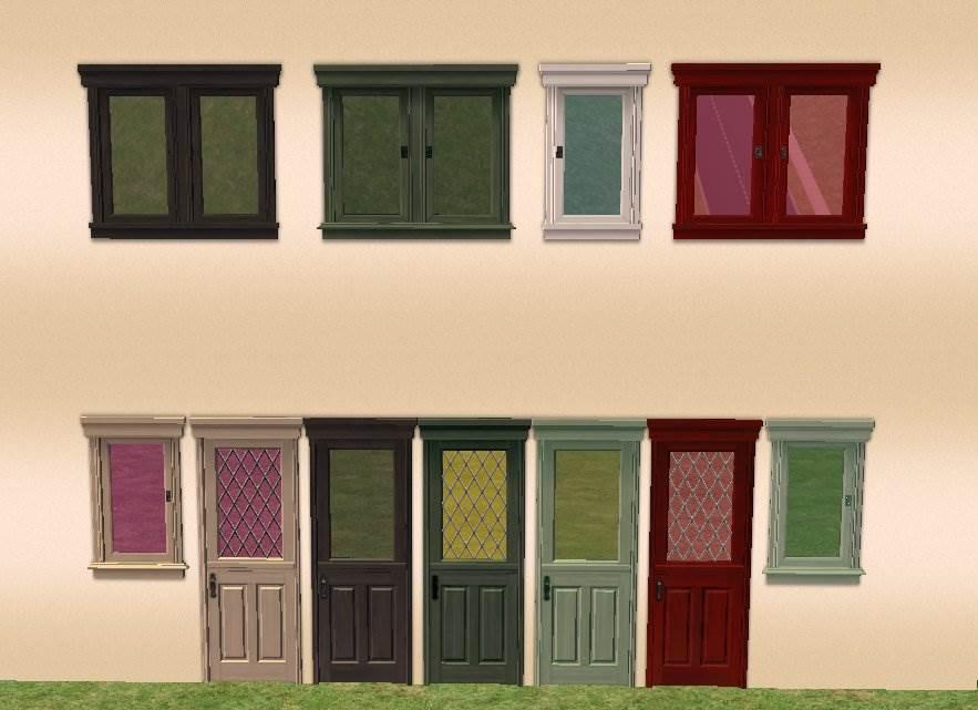 Open Me Up (Brasserie) door and window recolors