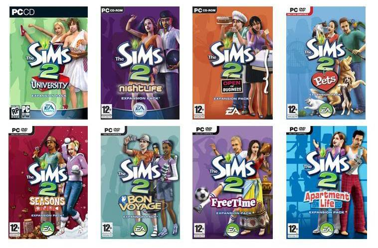 Sims 2 Patches